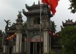 Chùa trung hậu pagoda near Vinh Phuc, Vietnam