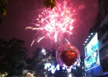 Love and fireworks in Ha Noi, Vietnam